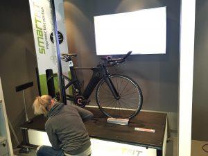 David Bike fitting CurrexSole